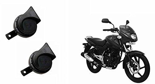 Roots Wind Tone Skoda Type Bike Horn (Set of 2)-Bajaj Pulsar 150 DTS-i Type-3
