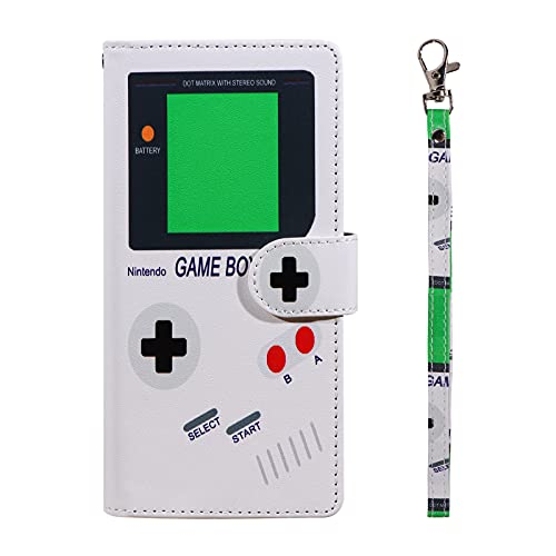 UrSpeedtekLive Galaxy S21 Ultra Wallet Case, Premium PU Leather Flip Case Cover with Card Slots & Kickstand for Samsung Galaxy S21 Ultra, Gameboy