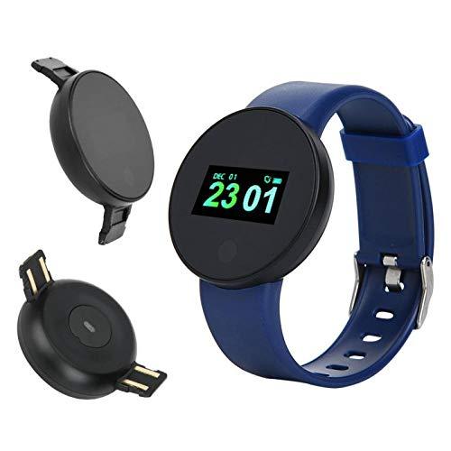 DAUERHAFT Stoppuhr Funktion Sport Smartwatch Gesundheit Fitness Tracker Schlafüberwachung IP67 Wasserdicht(Blue)