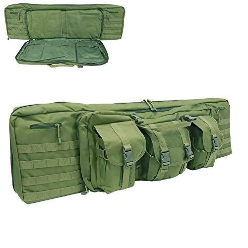 Home Arts 36/42 Inch Weiche Kugel Pistole Rucksack Außen Multifunktionale Tragbare Double-Layer-taktischer Rucksack Camping Special Forces Ausrüstung Taktische Zurück Long-120cm