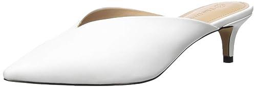 The Drop Valencia Zapatos destalonados de punta, blanco, 7 (US) 37.5 (EU)
