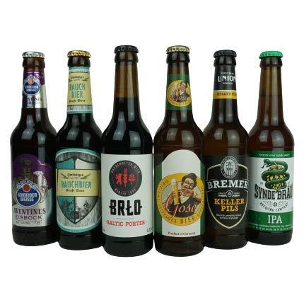 CRAFT-PAKET - die Bierbox mit Online-Tasting (Paket1)