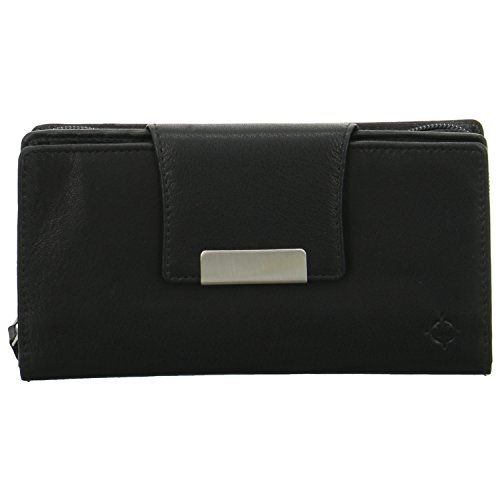 EASTLINE Accessoires Geldboersen Damenbörse 17003-01 schwarz 214109