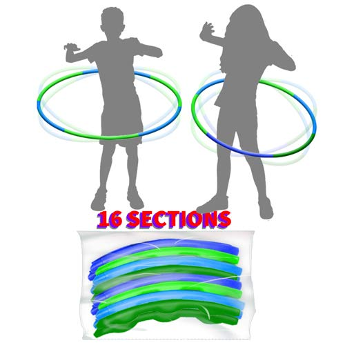 2 Pack Children Hula Toys RingsPlastic Adjustable Weight amp Length Hula Toys Rings for Kids Adults Party Games