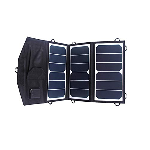 WNTHBJ zonne-opvouwing, 5 V 19,5 W oplader op zonne-energie, zoals oplader voor mobiele telefoon (10 stuks)