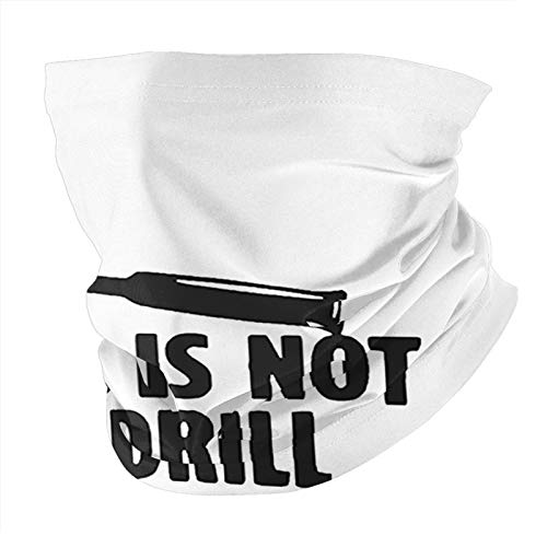 This is Not A Drillmen'S and Women's Clothing Masks All Kinds of Scarves Dust Proof, Outdoor Wearing Masks, Necklaces, Scarves, Magic Scarves Black