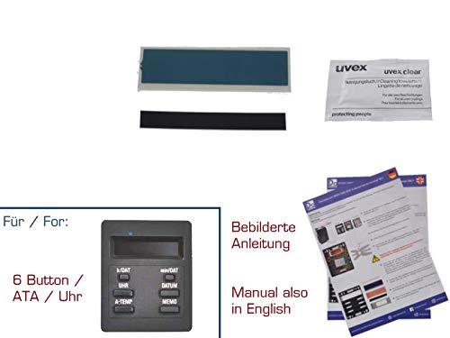 gearworks Display Reparaturset für 3er/E30 Außentemperaturanzeige BC 1 Reparatur