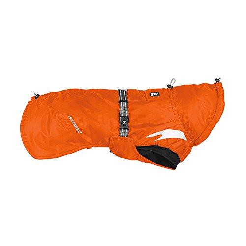 Hurtta Summit Parka Dog Winter Coat, Orange, 8 in