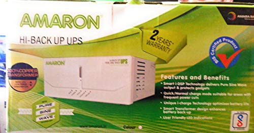 Amaron 880Va Hi Back Up Pure Sine Wave Ups (White)