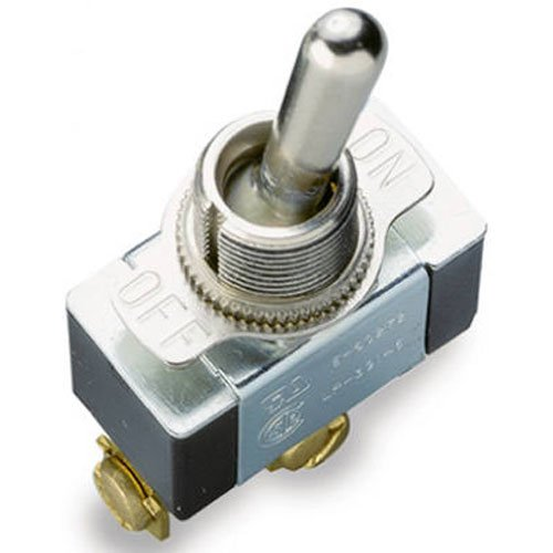Gardner Bender GSW-11  Heavy-Duty Electrical Toggle Switch, SPST, ON-OFF, ¾ HP 125-250V AC, Screw Terminal