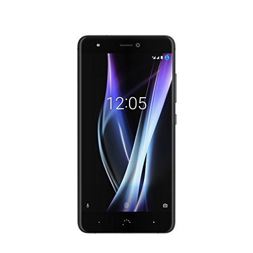 "BQ Aquaris X Pro - Smartphone de 5.2"" (4G, WiFi, Bluetooth 4.2, Qualcomm Snapdragon 626 Octa Core 2.2 GHz, 128 GB de Memoria Interna, 4 GB de RAM, cámara de 12 MP, Android 7.1.1 Nougat) Negro"