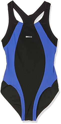 Beco Kinder Badeanzug-Basics, Blau, 176