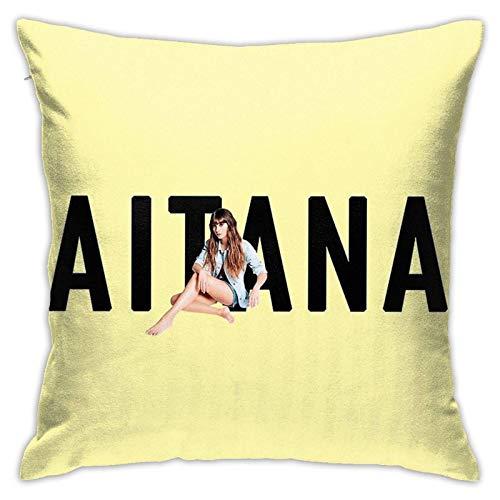 AOOEDM Aitana Fall Throw Pillow Covers 18x18 Decorativo para Cama Sofá Cojín Sofá Funda de Almohada
