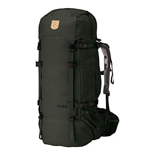 Fjällräven Trekking Rucksack Kajka Backpack, Forest Green, OneSize