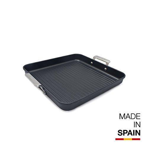 Valira Aire - Grill Premium de 28x28 cm hecho en España, aluminio fun