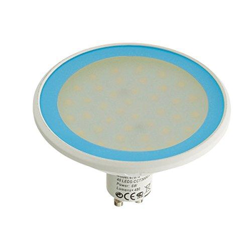 Easy Connect - Ampoule LED GU10 MR30 Dimmable SMD 8W 560Lm (équiv 40W) Bleu EASY CONNECT - 66871 - EC-66871