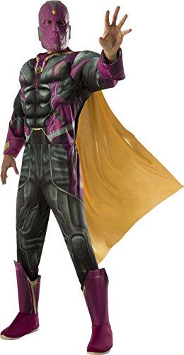 Rubie's-déguisement officiel - Marvel-Déguisement Vision adulte- Taille Standard- I-810305STD