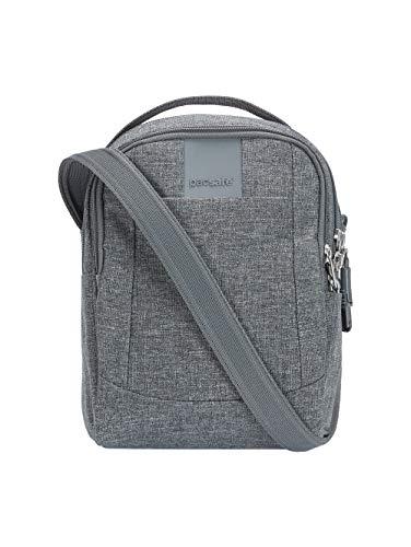 Pacsafe Metrosafe LS100 anti-theft cross body bag Bolso bandolera, 23 cm, 3 liters, Gris...