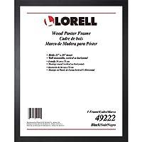 Lorell 無垢材ポスターフレーム 22インチ x 28インチ (49222)