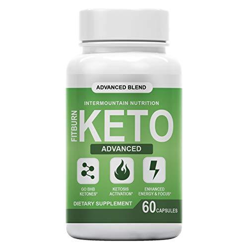 Fitburn Keto, Fit Burn Keto Pill, Advanced Blend, Advanced Ketosis Formula, The Official Brand Keto Dietary Supplement