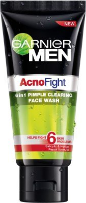 Garnier Acno Fight 6 In1 Pimple Clearing Face Wash (100 G)