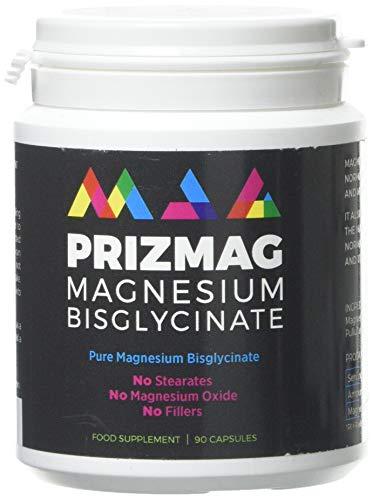 PrizMAG by ITL Health Prizmag Magnesium Bisglycinate 90 Caps, 90 Capsules