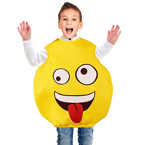 Tigerdoe Emoticon Costume for Kids - Unisex Funny Costume - Party Accessories - Kids Dress Up Yellow