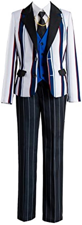 Fate Grand Order Saber Arthur Prototype Suit Outfit Jacke Kleid Cosplay Kostüm Herren S