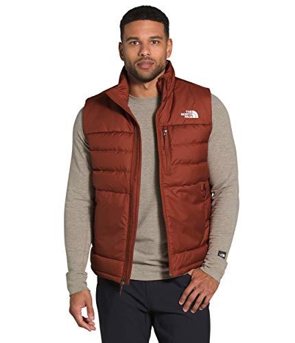 The North Face Men's Aconcagua 2 Vest, Brandy Brown, XS