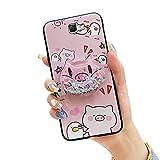 Lulumi - Carcasa para Samsung Galaxy Note2 y N7100, diseño de moda, diseño de cerdo rosa y pato