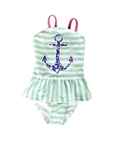 Banz Baby Costume da Bagno Intero Mare, Bambina Anti-UV, Anchor, 8 Anni.