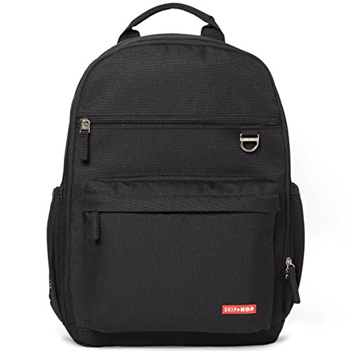 Skip Hop Duo Backpack, Black