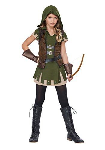 Girl's Miss Robin Hood Costume X-Large (12-14)