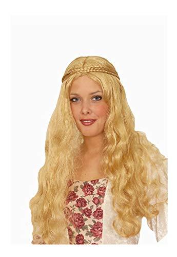 narrenkiste K11275215 blond Damen Mittelalter Perücke Edelfrau