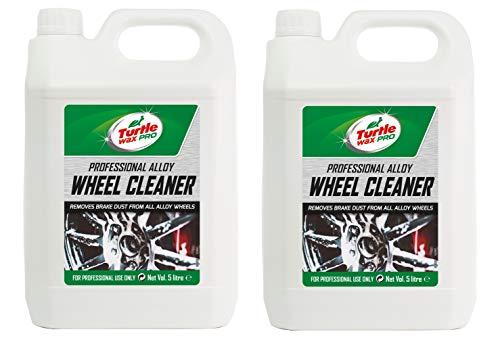 Turtle Wax Pro 53502 Alloy Car Wheel Cleaner Acid 2 x 5 Litre
