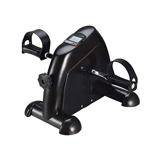 Minibike Fitnessbike Heimtrainer, Hometrainer Mini Fahrrad Bewegungstrainer Fitnessgerät mit LCD-Monitor Fahrradtrainer Fitness-Fahrrad für Arm-und Beintrainer Zuhause Büro
