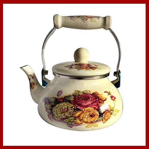 Chunjiao Gusseisen Set Enameled Kessel Kessel Kessel Kessel Chinesische Medizin Pot Cooker Gas Allgemein 1.5 L Home Decoration Präsens Kaffeekanne