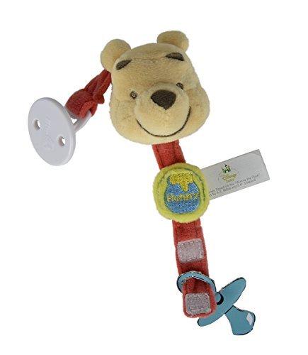 Simba 6315873645 - Disney Winnie The Puuh Plüsch Schnullerband 20 cm