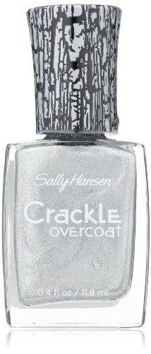 Sally Hansen Crackle Overcoat Nail Polish, Fractured Foil, 0.4 Fluid Ounce