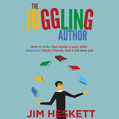 The Juggling Author audiobook cover art
