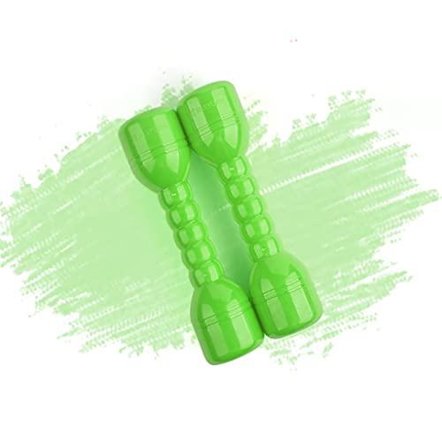 ZZL Mancuerna Aptitud Pesos de Mano de Mancuernas para niños 100 g de Pesas en Parejas Ejercicio y Gimnasia con Mancuernas con crujido para niños Equipo de Gimnasio para niños Fitness (Color : 5)