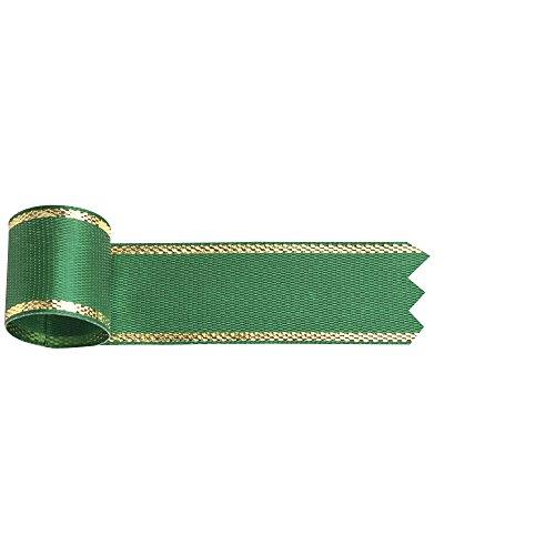 ササガワ リボン イブ 緑 18 10m巻 50-7413 1セット(5巻)