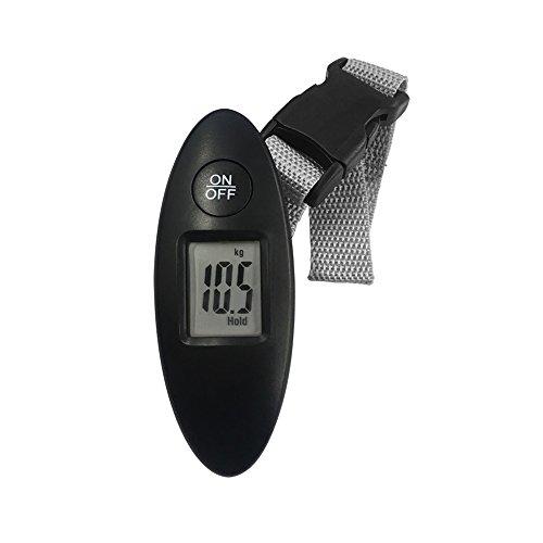 携帯ラゲッジスケール ブラック NTI-178