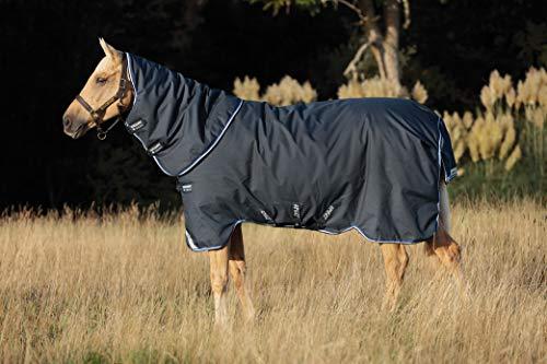 Horseware Amigo Bravo 12 Plus Turnout Lite 0g - Navy/Blue