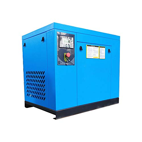 HPDAVV Rotary Screw Air Compressor 125-150PSI & Air Dryer...