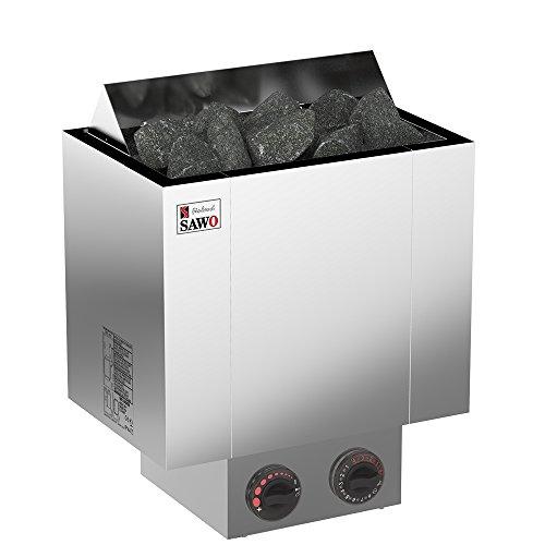 Preisvergleich Produktbild Saunaöfen Sawo Nordex Next 4.5 kW / Steuergerät: Eingebaut