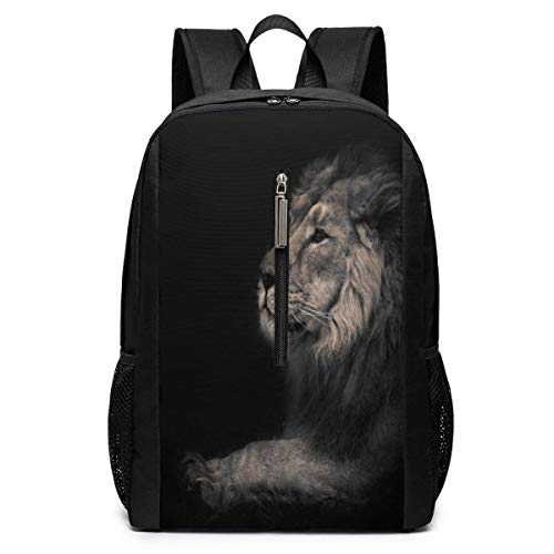 School Travel Business Bag Laptop BackpackAmazing Painting Pagoda Special Casual Backpack Shoulder Bookbags Bag for Womens Mens Youth 17'