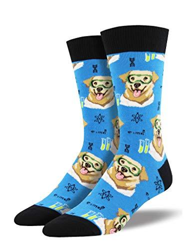 Socksmith Science Lab Socks Blue Size 10-13, 1 EA