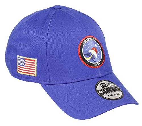 New Era Space Cap New Era Verstellbar Isa 9forty Usa Patch Sommer NASA Blau - One-Size