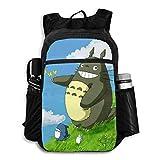 My Neighbor Totoro - Mochila plegable ligera, plegable, multiusos, práctica, plegable, para acampar, playa, al aire libre, mochila impermeable para hombres, mujeres, viajes, senderismo, mochila